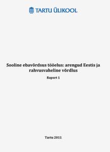 Sooline_ebavordsus_tooelus_kogumik kaas